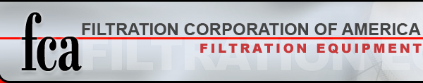 Filtration Corporation of America | Filtration Equipment